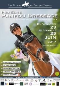 Affiche Pamfou Dressage 2017