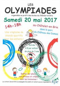 Les Olympiades au Châtelet-en-Brie @ Parc du Château des Dames | Le Châtelet-en-Brie | Île-de-France | France