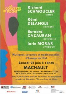 Les Concerts de Poche @ Salle Polyvalente | Machault | Île-de-France | France
