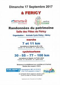 Randonnées du patrimoine @ Salle des Fêtes | Féricy | Île-de-France | France