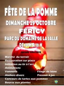 Fête de la Pomme @ Férocy, domaine de la salle  | Féricy | Île-de-France | France