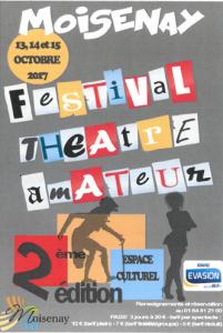 Festival de Théâtre amateur @ Moisenay, Espace Culturel | Moisenay | Île-de-France | France