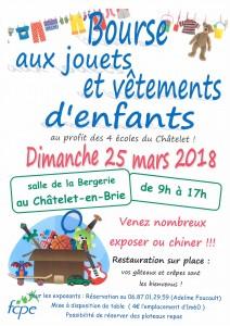 Bourse aux jouets et vêtements d'enfants @ Salle de la Bergerie | Le Châtelet-en-Brie | Île-de-France | France