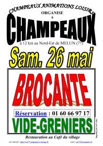 BROCANTE A CHAMPEAUX @ Champeaux | Île-de-France | France