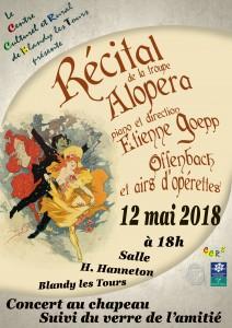 Récital de la troupe Alopera à Blandy @ Salle H. Hanneton   Blandy   Île-de-France   France