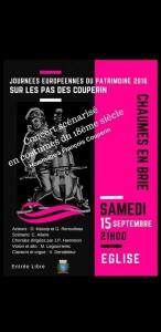 Concert hommage à François Couperin @ Chaumes-en-Brie | Independence | Missouri | États-Unis