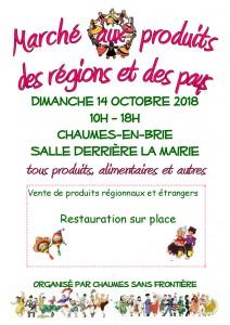 Marché aux produits des régions et des pays @ Chaumes-en-Brie