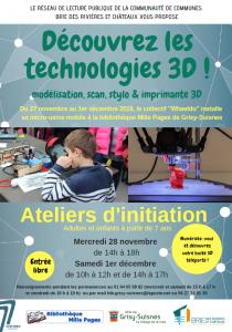 Découvrez les technologies 3D @ Grisy-Suisnes