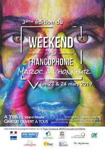 Week-End de la Francophonie @ Yèbles