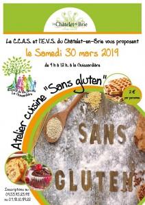 """Atelier cuisine """"Sans Gluten"""" @ Le Châtelet-en-Brie"""
