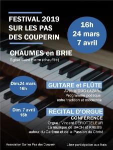 """Festival """"Sur les pas de Couperin"""" @ Chaumes-en-Brie"""