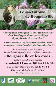 """Conférence """"Bougainville et les roses"""" @ Grisy-Suisnes"""