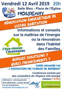 """""""Rénovation énergétique de votre habitation"""" @ Moisenay"""