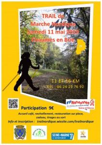 Trail de marche nordique @ Chaumes-en-Brie