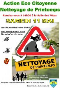 Nettoyage de printemps @ Féricy