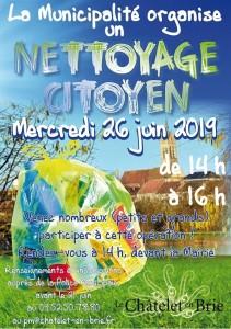 Nettoyage citoyen @ Le Châtelet-en-Brie