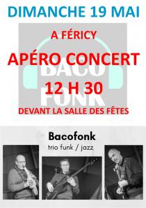 """Apéro-concert """"Bacofonk"""" @ Fericy"""