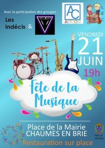 Fête de la musique @ Chaumes-en-Brie