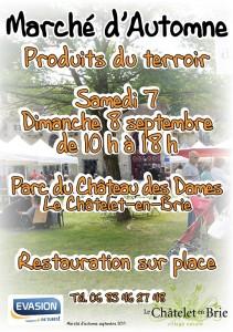 Marché d'automne @ Le Châtelet-en-Brie