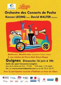 Orchestre des Concerts de Poche @ Guignes