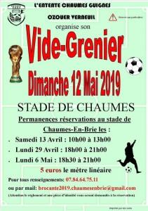 Vide-greniers @ Chaumes-en-Brie