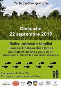 Rallye pédestre familial @ Le Châtelet-en-Brie