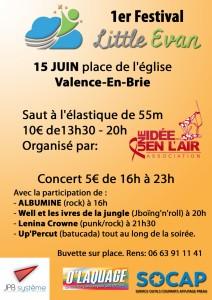 Festival Little Evan @ Valence-en-Brie