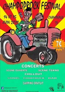 Champoprock Festival @ Champeaux