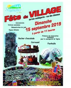 Fête du village @ Soignolles-en-Brie