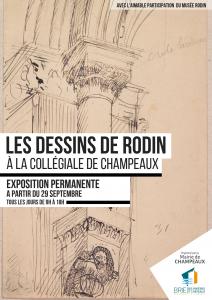 Les dessins de Rodin @ Champeaux