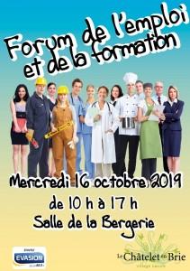 Forum de l'emploi et de la formation @ Le Châtelet-en-Brie