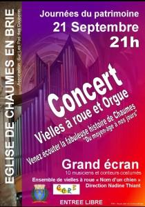 Journées du patrimoine @ Chaumes-en-Brie