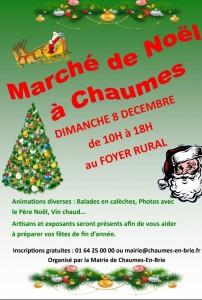 Marché de Noël @ Chaumes-en-Brie