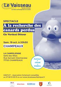À la recherche des canards perdus @ Champeaux