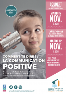 Comment te dire ? : la communication positive @ Coubert