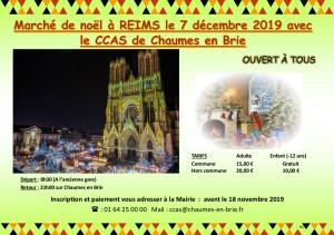 Marché de Noël à Reims @ Reims