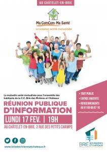 Réunion publique : Ma Com'Com Ma Santé @ Le Châtelet-en-Brie
