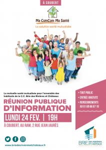 Réunion publique : Ma Com'Com Ma Santé @ Coubert