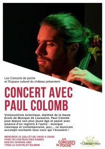 Concert avec Paul Colomb @ Le Châtelet-en-Brie