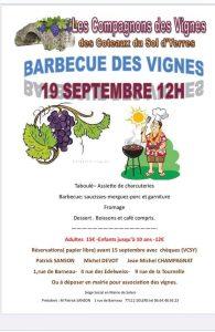 Barbecue des vignes @ Solers